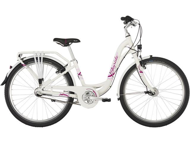 """Puky Skyride Light 24"""" Bicicletta 3 marce Ragazza, white"""